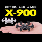 MJX X900 X-900 3D Roll 2.4G 6-Axis First Nano Hexacopter RC Toys & Hobbies