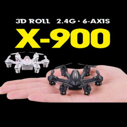 MJX X900 X-900 3D Roll 2.4G 6-Axis First Nano Hexacopter