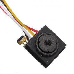 Mini HD-kamera med 1/4 HD-upplösning och Sensor 600 Line of 0.38MP