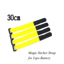 Nylon Velcro Lipo Battery 2cm*30cm Ribbon Fastener Magic Sticker Strap