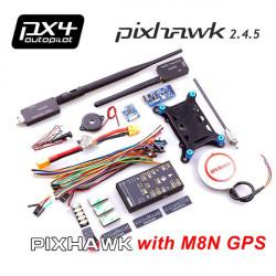 PIXHAWK PX4 Flight Controller med UBLOX M8N GPS 3DR Radio OSD