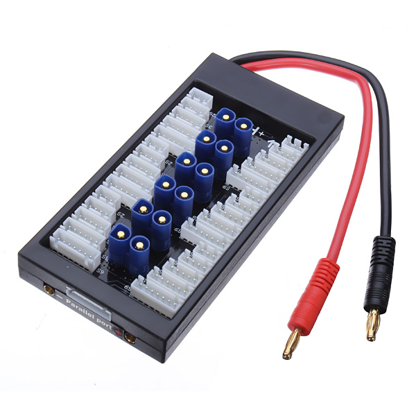 Paraboard V2 Parallel Laddnings Controller för Lipos med EC3 Connector Radiostyrt