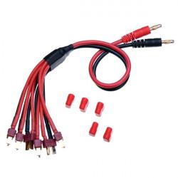 Parallellladdningskabel Kraftledning Laddare Dedikerad Fodrar T Plug X6