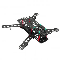 QAV280 Bilbon / Glasfiber Mini FPV Quadcopter Frame Kit