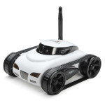 RC Bil Tank 777-270 Mini Wi-Fi Kamera Support iPhone iPad iPod Controller iPad Tillbehör