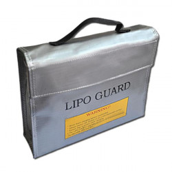 RC Lipo Safty Lös / Lipo Guard Lös för Laddning Stor 235 * 65 * 180mm