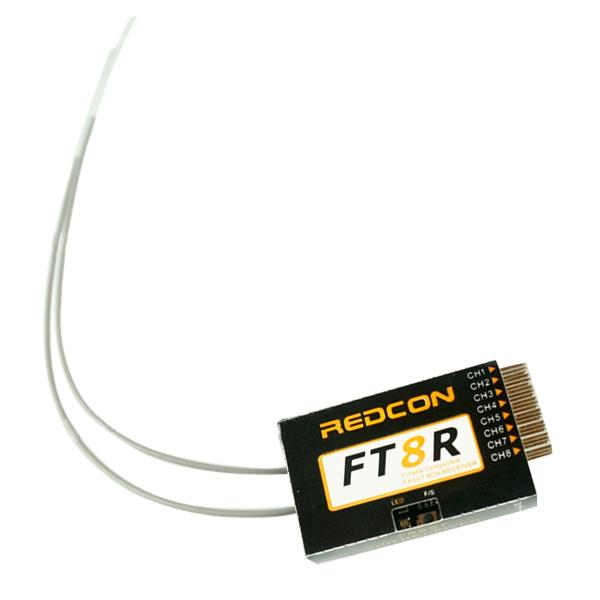 REDCON 2.4GHz 8CH FT8R Empfänger Futaba FASST Kompatibel RC Spiele & Hobbies