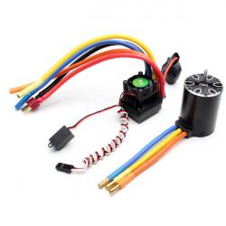 ROCKET 540 3100KV Brushless Sensorless Motor + 45A ESC Maßstab 1:10