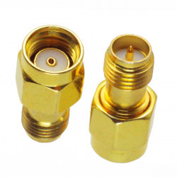 RP-SMA Male to RP-SMA Female Adapter RF Connector RP-SMA-JK