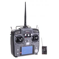 Radiolänk AT10 10CH 2.4Ghz Sändare med R10D 10CH Mottagare Gray