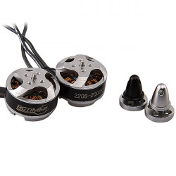 Rctimer 2206 2000KV Mini Brushless Motor rechts / links für Multicopters