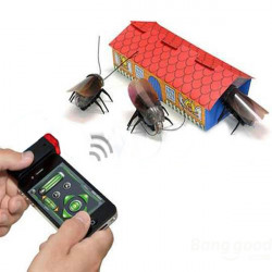 Remote Control Robot Cockroach Beetle For iPhone iPad iPod Touch