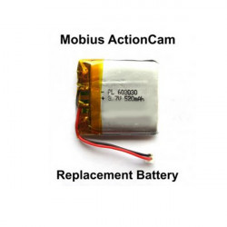 Replacement Battery For The Mobius Action Sport Camera