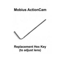 Byte Hex Nyckel för Mobius Action Sport Kamera