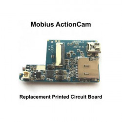 Replacement Printed Circuit Board For The Mobius Action Sport Camera