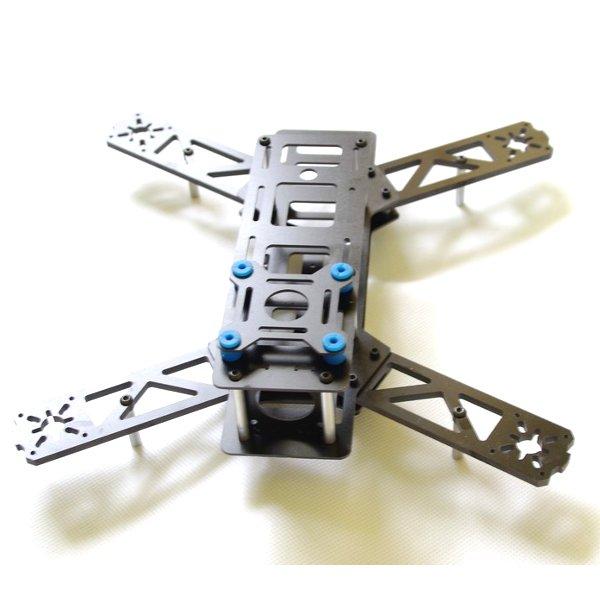 Reptil X260 260mm Fiberglass Mini Quadcopter Rahmen Kit RC Spiele & Hobbies