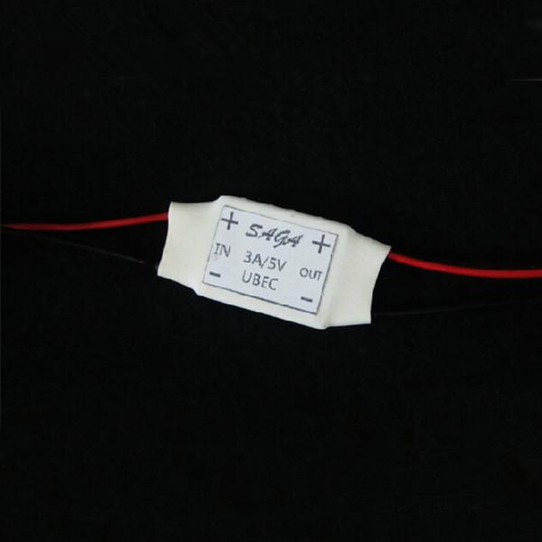 SAGA 5V / 3A UBEC Spänningsreglering Module 2-6S Radiostyrt