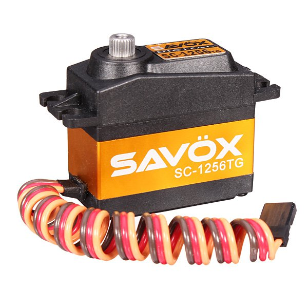 SAVOX SC-1256TG 0.15S 20KG Titanium Alloy Växel Digital SERVO Radiostyrt