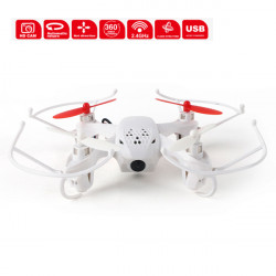 SKY Fighter JY001 2.4G 4CH 6 Axis RC Quadrokopter Droner med 2MP Kamera