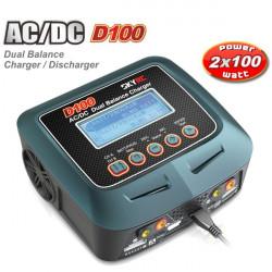 SkyRC D100 AC / DC Dual Balance Ladegerät Entlader für RC Modelle
