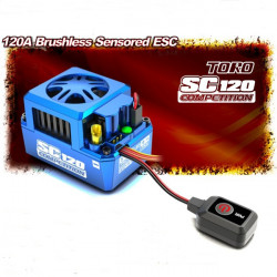 Skyrc TORO SC120A Brushless Sensored ESC for 1/12 RC Cars