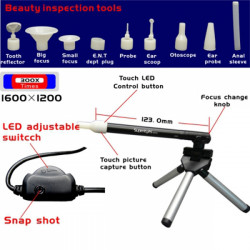 Supereyes B003+ 300X Portable USB Digital Microscope for RC Model
