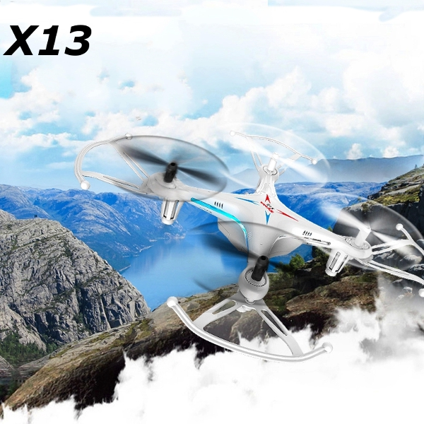 Syma X13 Storm 2.4G 4CH 6-Axis RC Quadcopter med 3D Flips Radiostyrt