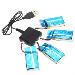 Syma X5-15 X5C H5C 1 To 4 3.7V 600MAH Upgrade Battery