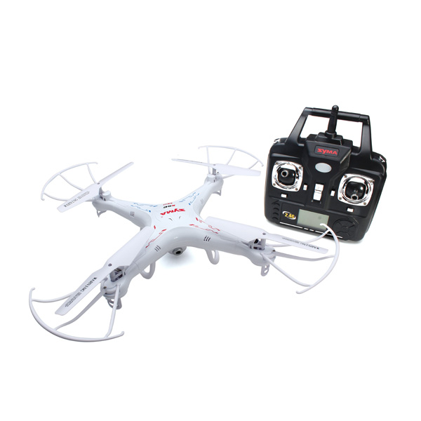 Syma X5C X5C-1 Ny Version Explorers Quadcopter Mode 2 med Kameran Radiostyrt