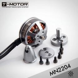 T-MOTOR MN2204 1400KV 2300KV Brushless Motor for RC Quadrokopter Droner