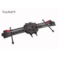 Tarot FY690S Fullständig 6 Axis Folding Rack Kolfiber Ram TL68C01