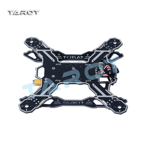Tarot TL200A Mini 200mm 4-Axis Quadrokopter Droner Frame Kit Fjernstyret