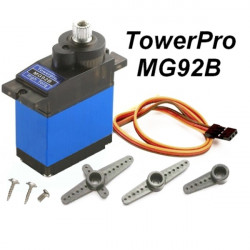 Towerpro MG92B Robot 13.8g 3.5KG Torque Mental Gear Digital Servo