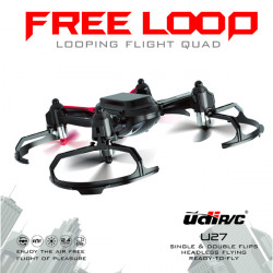UDI U27 2.4G 4CH 6 Axis Looping Flight RC Quadcopter RTF