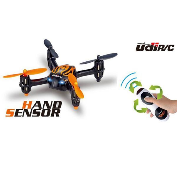 UDI U830 2.4G 4CH 4 Axis Hand Sensor Mini RC Quadcopter UFO RTF RC Toys & Hobbies