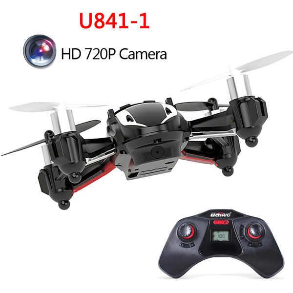 Upgrade UDI U841-1 HD 720P 2MP Camera 2.4G 4CH 6 Axis RC Quadcopter UFO RC Toys & Hobbies