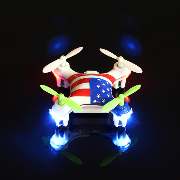 WLtoys V676 2.4G Super Mini UFO Headless Mode Quadcopter RTF RC Toys & Hobbies