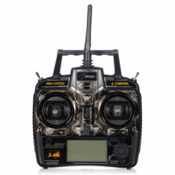 WLtoys V922 6CH Single Rotor RC Helikopter Reservdelar Sändare