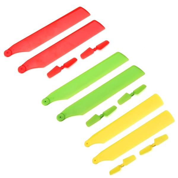 WLtoys V966 V977 V988 V930 Mini CP HP100 6050 Upgrade Blade Set RC Toys & Hobbies