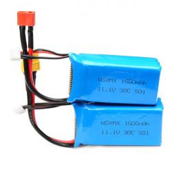 WSX WSX S01 11.1V 30C 1500mAh Batterie für QAV250 Rahmen Kit