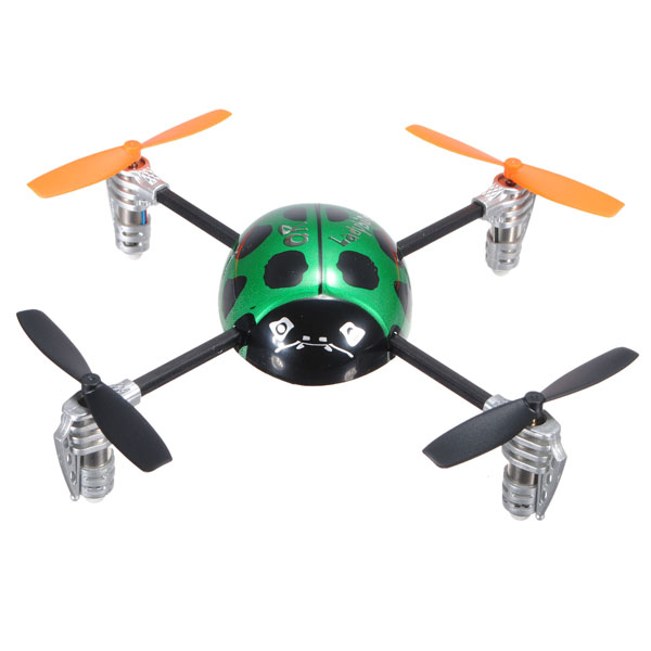 Walkera 4CH QR Ladybird V2 RC Quadcopter + Devo 4 Transmitter(Mode2) RC Toys & Hobbies