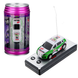 Wltoys 2015-1A 1:63 Coke Can Mini RC Radio Racing Bil Random