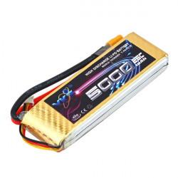 YKS BW216 7.4V 5000MAH 25C XT60 Stecker Li Po Akku für RC Modellbau