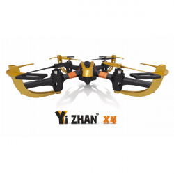 Yi Zhan X4 6 Axis 2.4G RC Quacopter med LCD Sändare RTF
