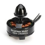 ZMR 1804 2400KV Mikrostora Integrations Outrunner Borstlös Motor Radiostyrt