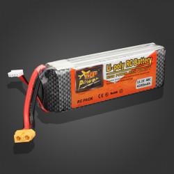 ZOP Ström 11.1V 4200mAh 40C Lipo Batteri XT60 Plug