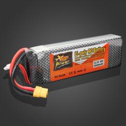 ZOP Power 11.1V 5500mAh 35C Lipo Battery XT60 Plug