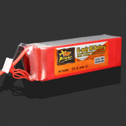 ZOP Ström 22.2V 6000mAh 35C Lipo Batteri XT60 Plug