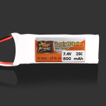 ZOP Power 7.4V 800MAH 25C Lipo Battery JST Plug RC Toys & Hobbies