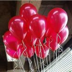 100stk Multicolor Ballon Geburtstag Weihnachtshochzeitsfest Dekoration Halloween / Maskerade